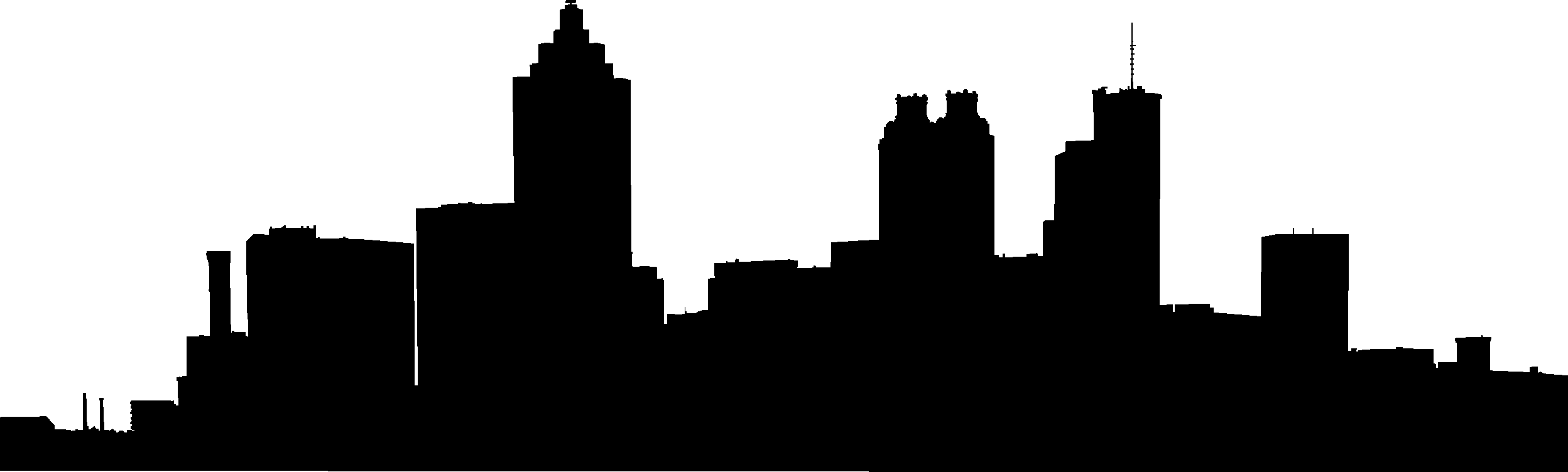 Atlanta Skyline Vector.