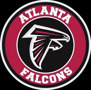 Details about Atlanta Falcons Circle Logo Vinyl Decal / Sticker 10 sizes!!.