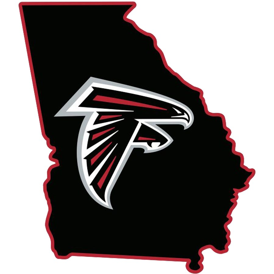 Fathead Atlanta Falcons State Giant Removable Decal.