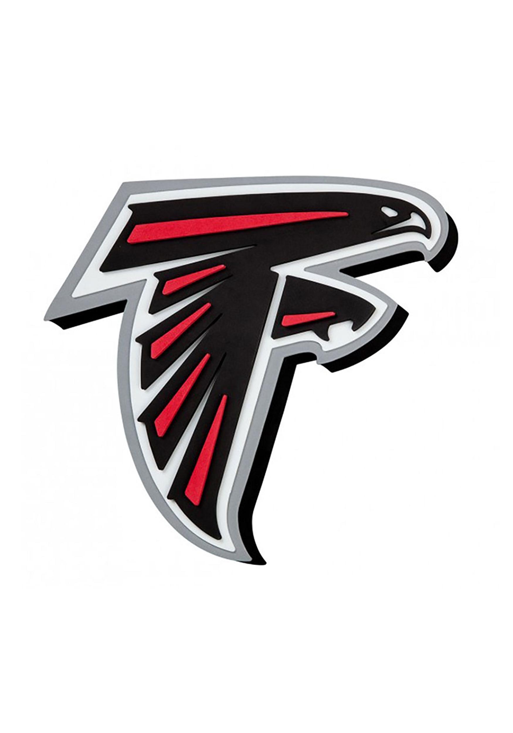 NFL Atlanta Falcons Logo Foam Sign.