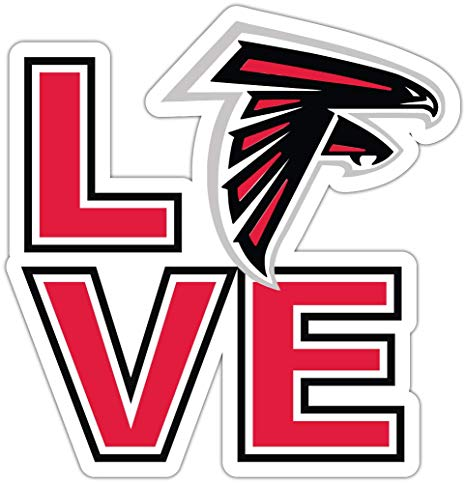 Amazon.com: qualityprint Atlanta Falcons Love NFL Sport.