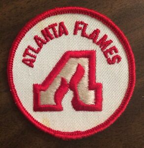 Details about Vintage Atlanta Flames NHL Logo Patch Iron On / Glue On  3\