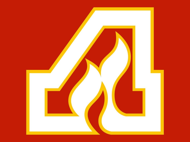 Atlanta Flames Logo.