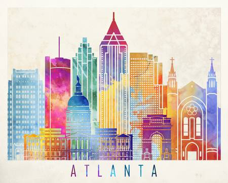 574 Atlanta Georgia Cliparts, Stock Vector And Royalty Free Atlanta.