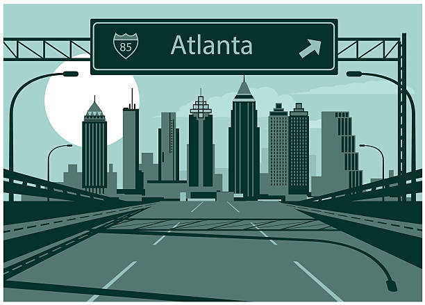 Best Atlanta Georgia Illustrations, Royalty.
