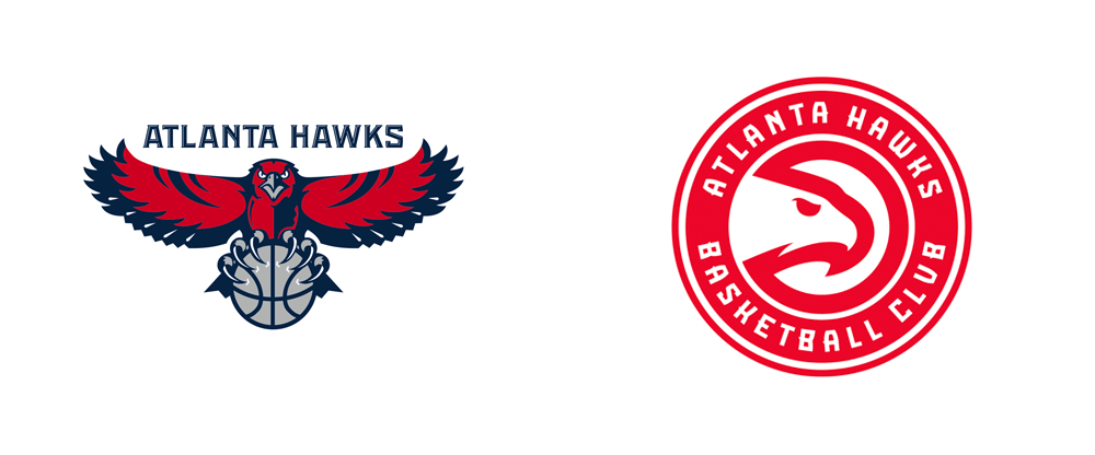 Brand New: New Name and Logos for Atlanta Hawks Basketball Club.