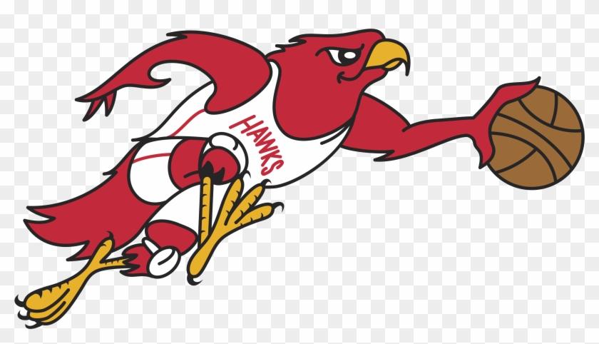 Atlanta Hawks Retro Logo.