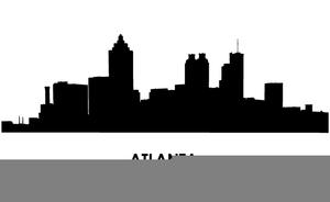 Free Clipart Atlanta Skyline.