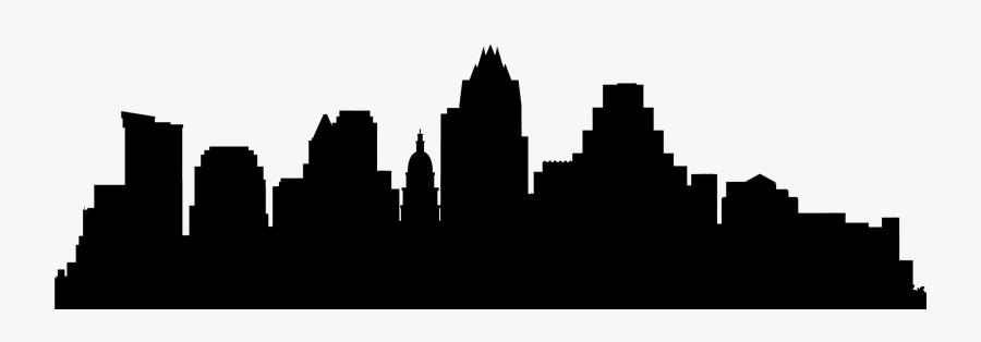 Banner Transparent Austin Skyline Clipart.