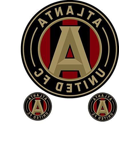 Atlanta United Football Club Logo 3 in 1.