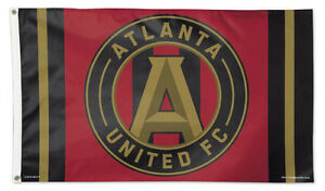 Details about ATLANTA UNITED FC Huge 3\'x5\' Official MLS Soccer Team Logo  DELUXE FLAG.
