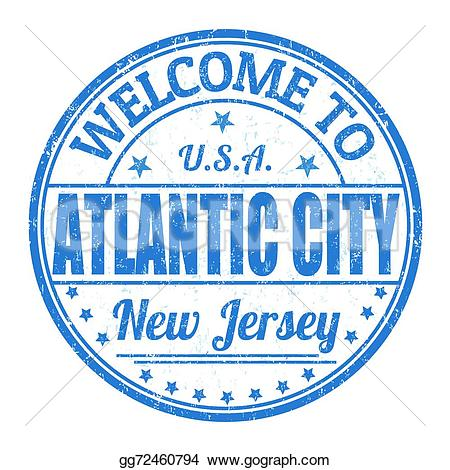 Atlantic City Clip Art.