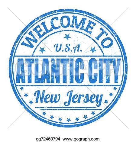 Atlantic City Clip Art.