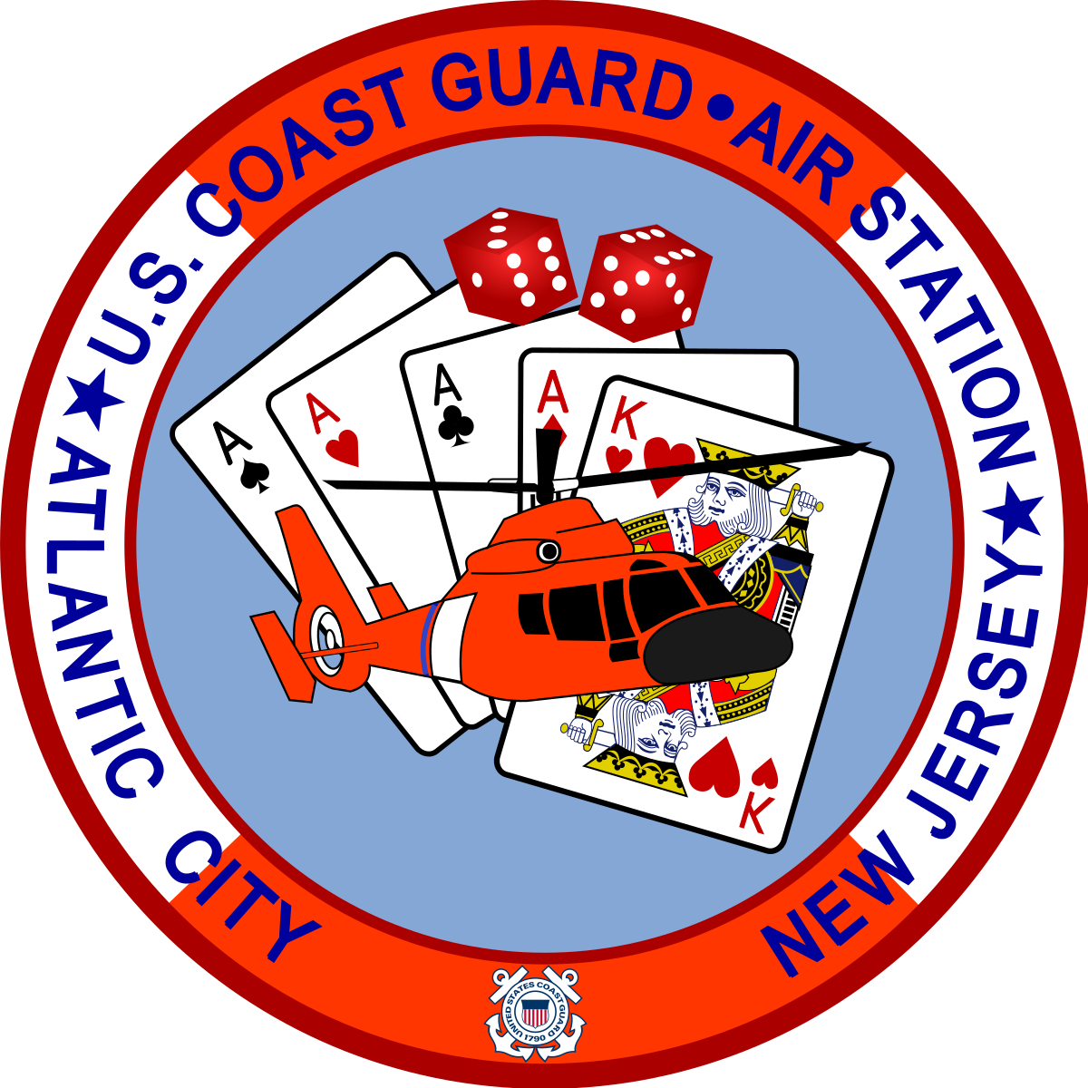 Coast Guard Air Station Atlantic City.