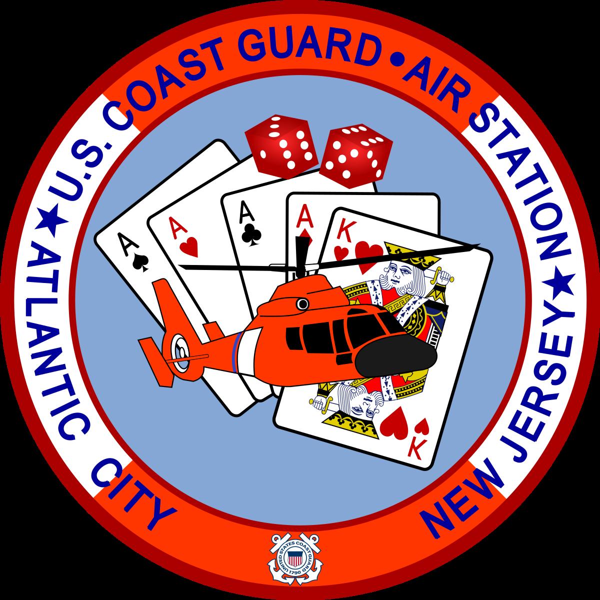 Coast Guard Air Station Atlantic City.