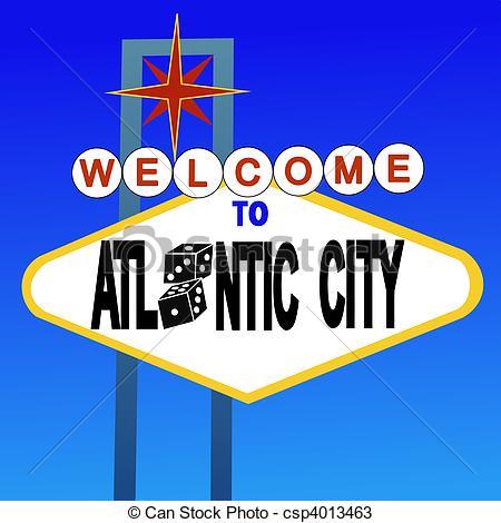 Atlantic city Stock Illustrations. 732 Atlantic city clip art.