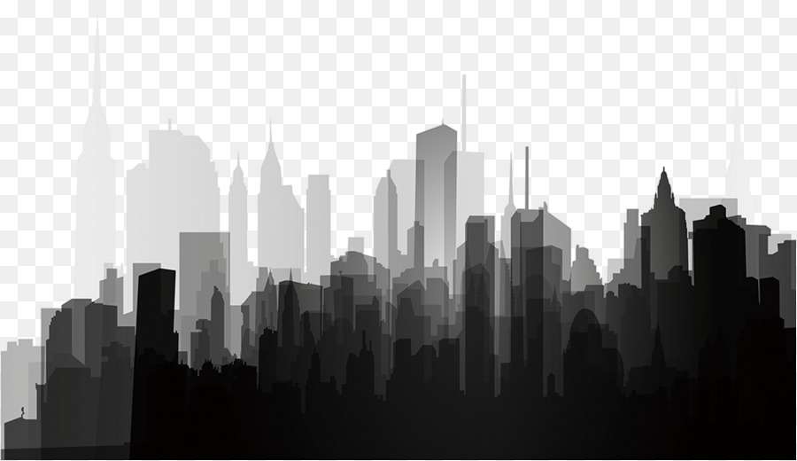 City Skyline Silhouette.