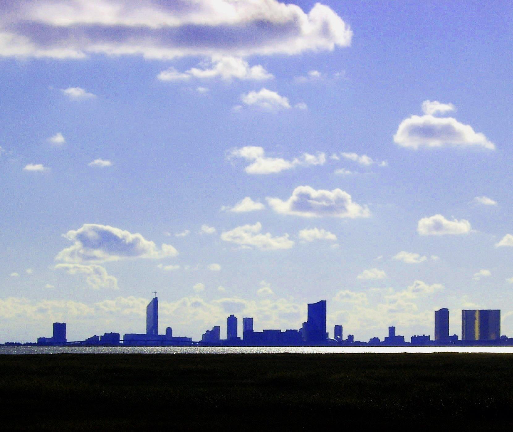 Atlantic City Silhouette.