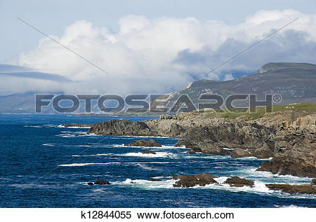 Stock Image of Atlantic coast k12844055.
