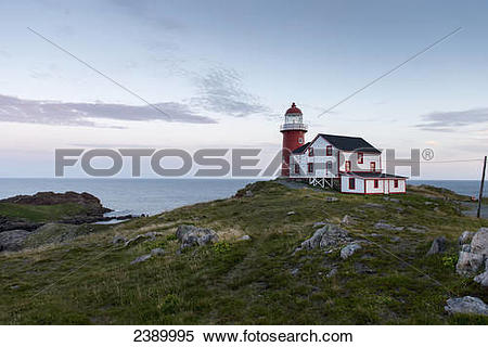 Stock Image of Lighthouse on the atlantic coast; Calvert.