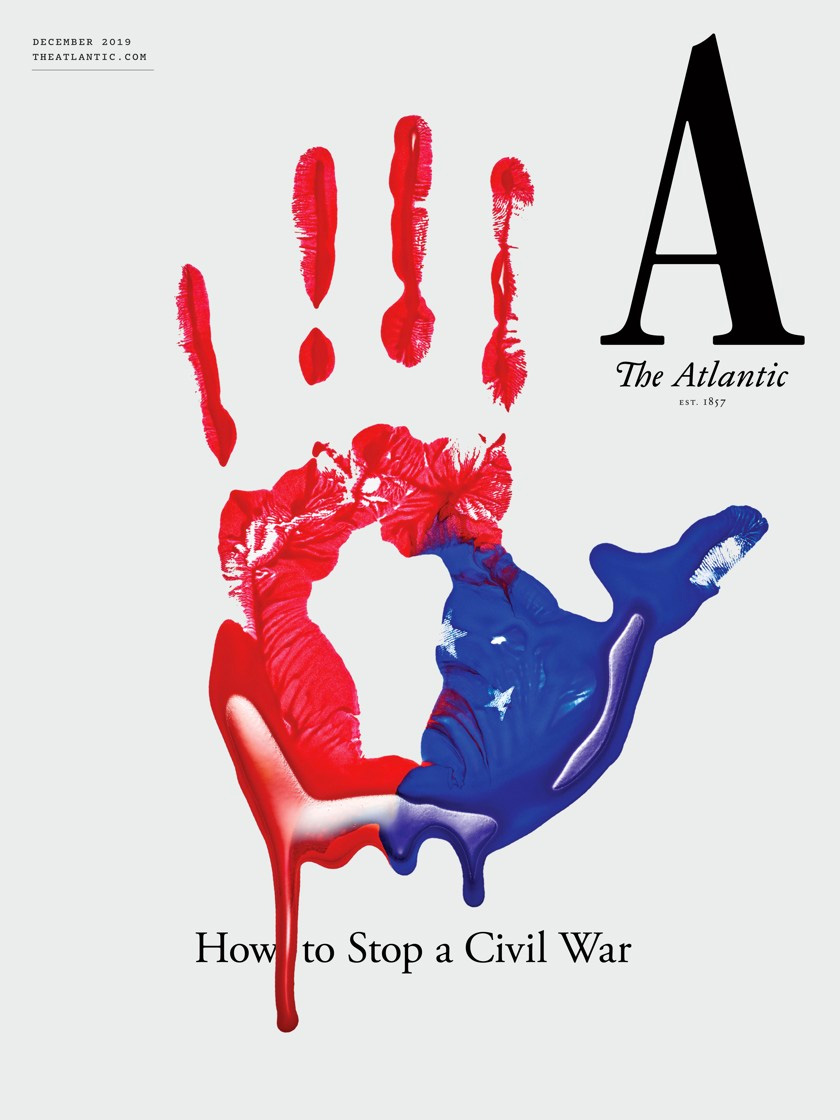 Brand New: New Logo and Cover for The Atlantic done In.