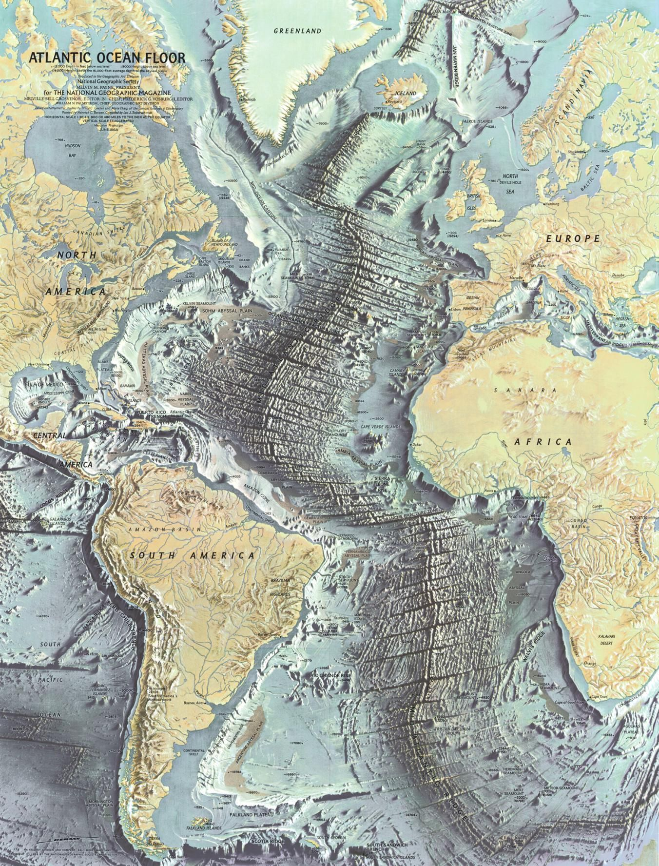 100 Years of National Geographic Maps: The Art and Science.