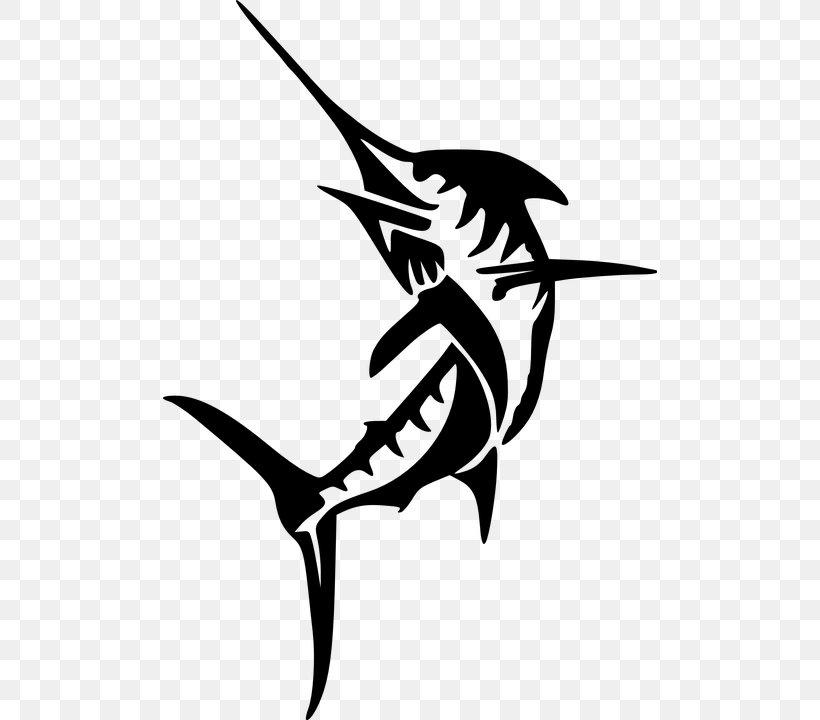 Atlantic Blue Marlin Swordfish Marlin Fishing Clip Art, PNG.