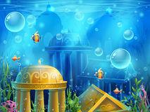 Atlantis Stock Illustrations.
