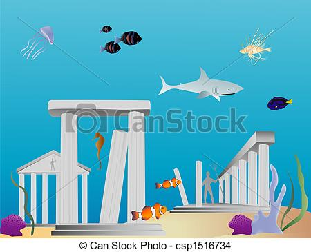 Atlantis Stock Illustrations. 262 Atlantis clip art images and.