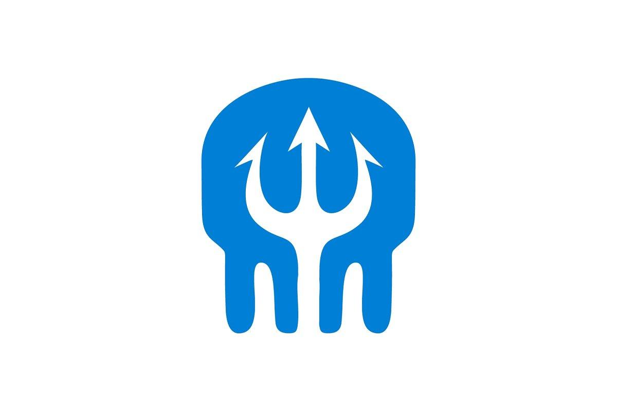 Skull Atlantis Logo ~ Logo Templates ~ Creative Market.