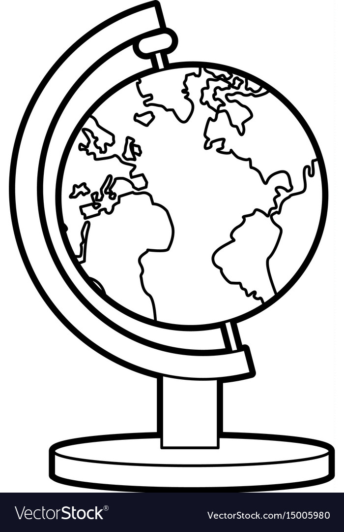 School globe atlas map geography.