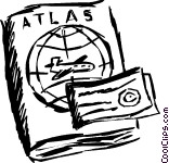 Atlas clipart 4 » Clipart Station.