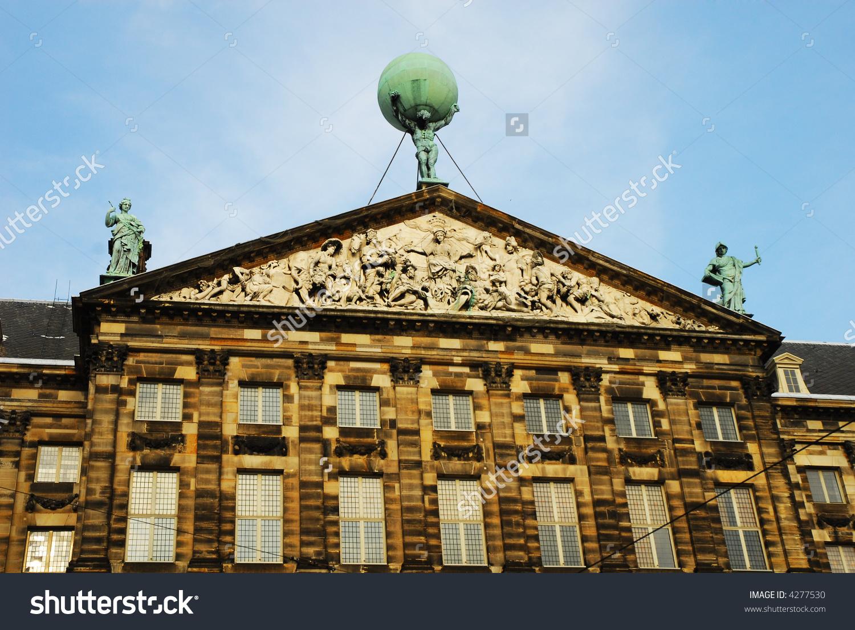 The Royal Palace In Amsterdam (Koninklijk Paleis Te Amsterdam.