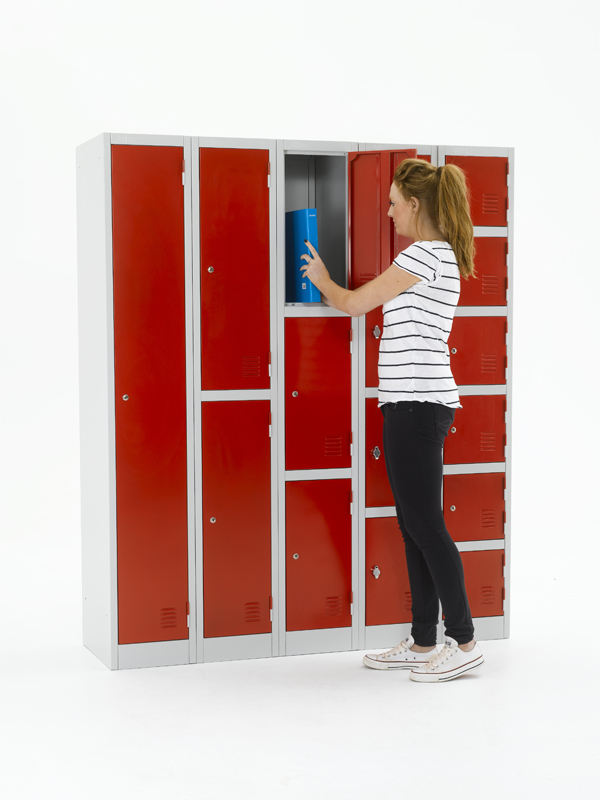 Atlas Steel Lockers: Metal Lockers for Retailers & Offices.