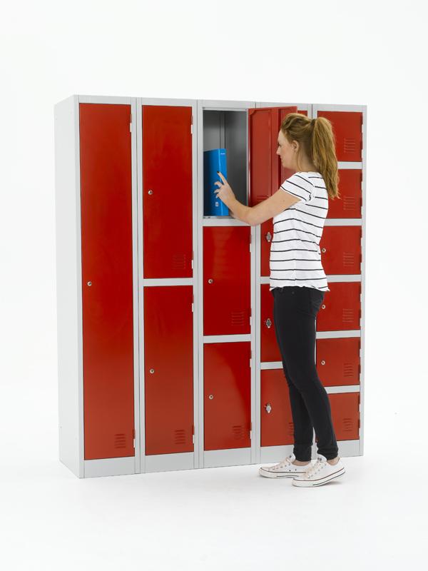 Atlas Steel Lockers: Metal Lockers for Retailers & Offices.