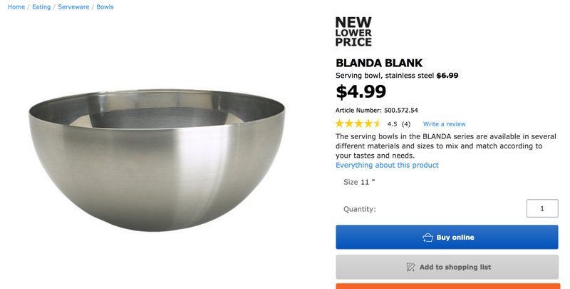 This Ikea Bowl Has Been Setting Things on Fire.