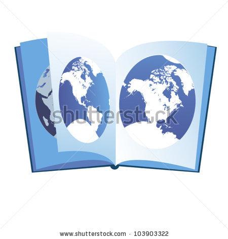 Atlas Book Stock Photos, Royalty.