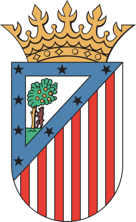 Club Atletico de Madrid™ logo vector.