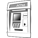 ATM Clipart Picture, ATM Gif, Png, Icon Image.