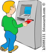 Atm Clip Art EPS Images. 5,450 atm clipart vector illustrations.