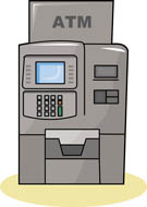 Atm sign clip art.