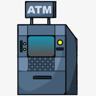 Bank Clip Atm Clipart.