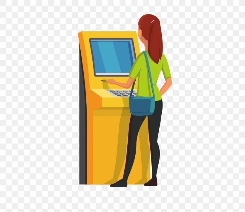 Automated Teller Machine ATM Card Cash Clip Art, PNG.