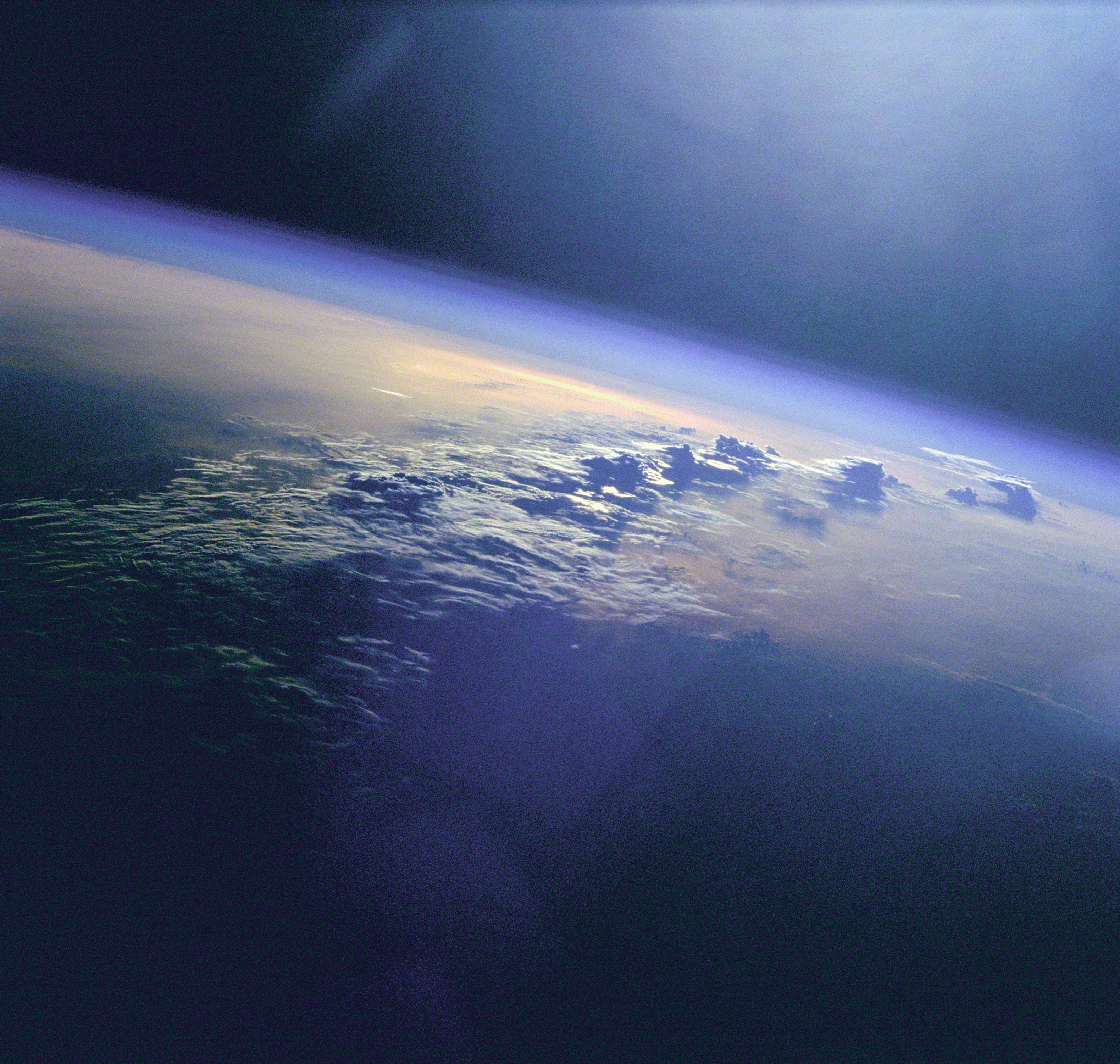 Photo of Clouds In Earth's Atmosphere.