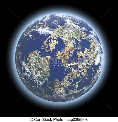 The earth's atmosphere clipart #6