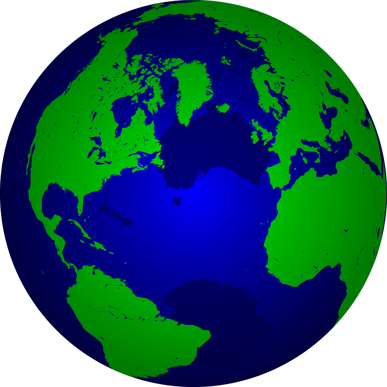 Earth Clipart transparent PNG.