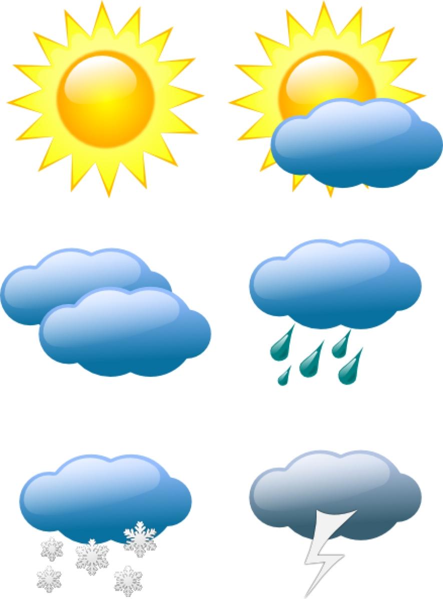 Atmospheric disturbance moving away, Thundershowers will reduce.
