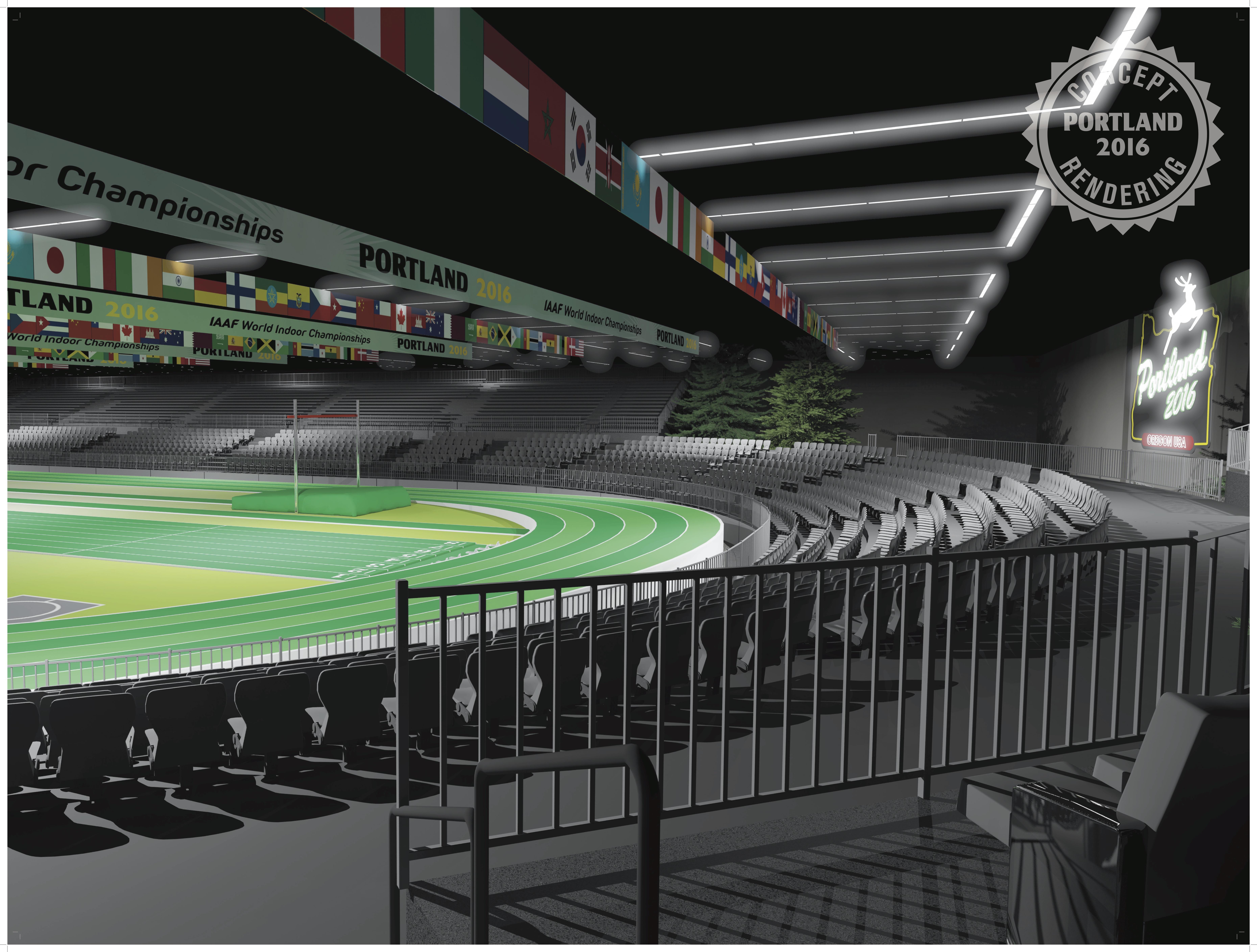 IAAF World Indoor Championships.