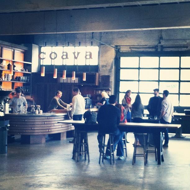 Coava coffee in Portland.
