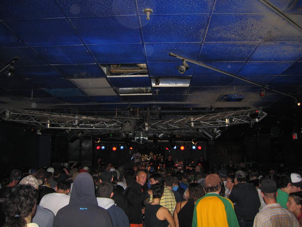 Atmosphere at the Asylum (Portland, ME).
